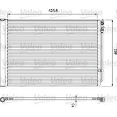Condenseur de climatisation VALEO - 814410