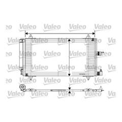 Condenseur de climatisation VALEO - 817508