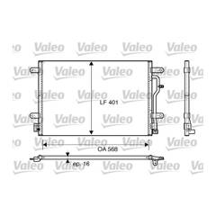 Condenseur de climatisation VALEO - 817741