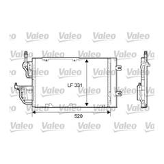 Condenseur de climatisation VALEO - 818168