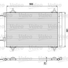 Condenseur de climatisation VALEO - 818171