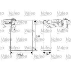 Evaporateur de climatisation VALEO - 817682