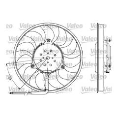 Radiator Fan VALEO - 698612