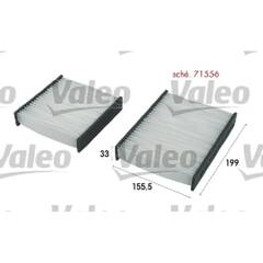 Filtre d'habitacle VALEO - 715556