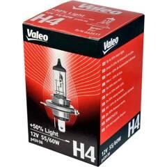 Gloeilamp H4 VALEO +50% Light VALEO - 032511
