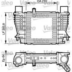 Intercooler (échangeur d'air) VALEO - 817999