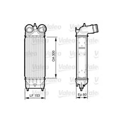 Intercooler (échangeur d'air) VALEO - 818244