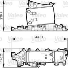 Intercooler (échangeur d'air) VALEO - 818265