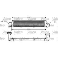 Intercooler (échangeur d'air) VALEO - 818715