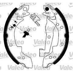 Kit de freins arrière VALEO - 553685