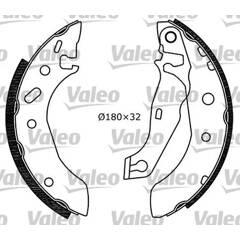 Kit de freins arrière VALEO - 553848