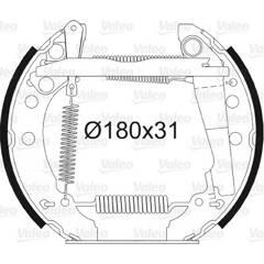 Kit de freins arrière VALEO - 554627