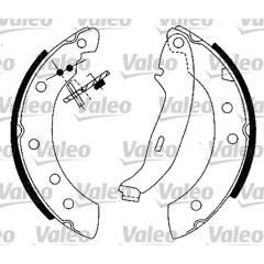 Kit de freins arrière VALEO - 554725