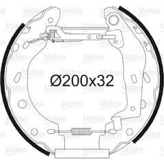 Kit de freins arrière VALEO - 554787