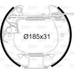 Kit de freins arrière VALEO - 554806