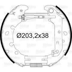 Kit de freins arrière VALEO - 554827