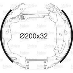 Kit de freins arrière VALEO - 554848