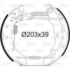 Kit de freins arrière VALEO - 554849