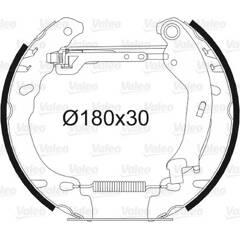 Kit de freins arrière VALEO - 554850