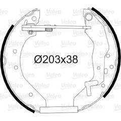 Kit de freins arrière VALEO - 554866