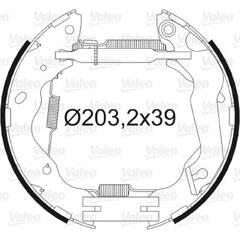 Kit de freins arrière VALEO - 554876