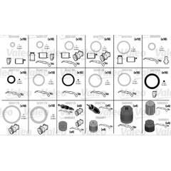 Kit de  joints toriques, climatisation VALEO - 509189