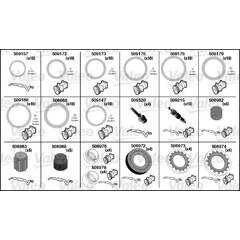 Kit de  joints toriques, climatisation VALEO - 509296