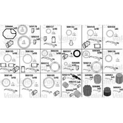 Kit de joints toriques, climatisation VALEO - 509337