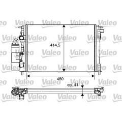 Module de refroidissement VALEO - 733075