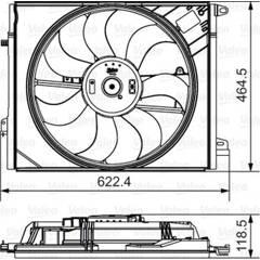 Moteur de ventilateur VALEO - 696882