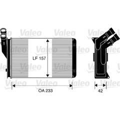 Radiateur de chauffage VALEO - 812044