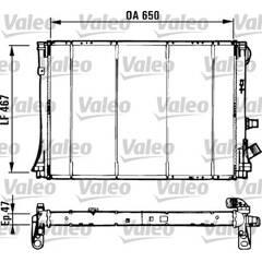 Radiateur VALEO - 731529