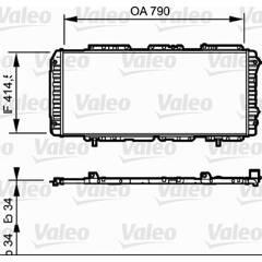 Radiateur VALEO - 731611