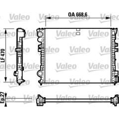 Radiateur VALEO - 732692