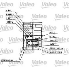 Steering Column Switch VALEO - 251274
