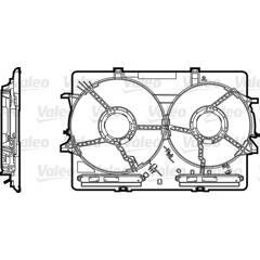 Support (ventilateur radiateur) VALEO - 820758