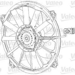 Ventilateur (refroidissement moteur) VALEO - 696091