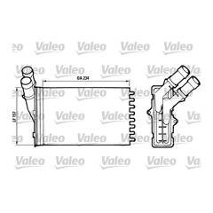 Voorverwarmer, interieurverwarming VALEO - 812005